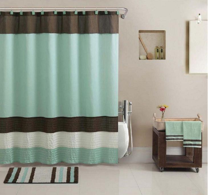 Bathroom Shower With Curtain 014