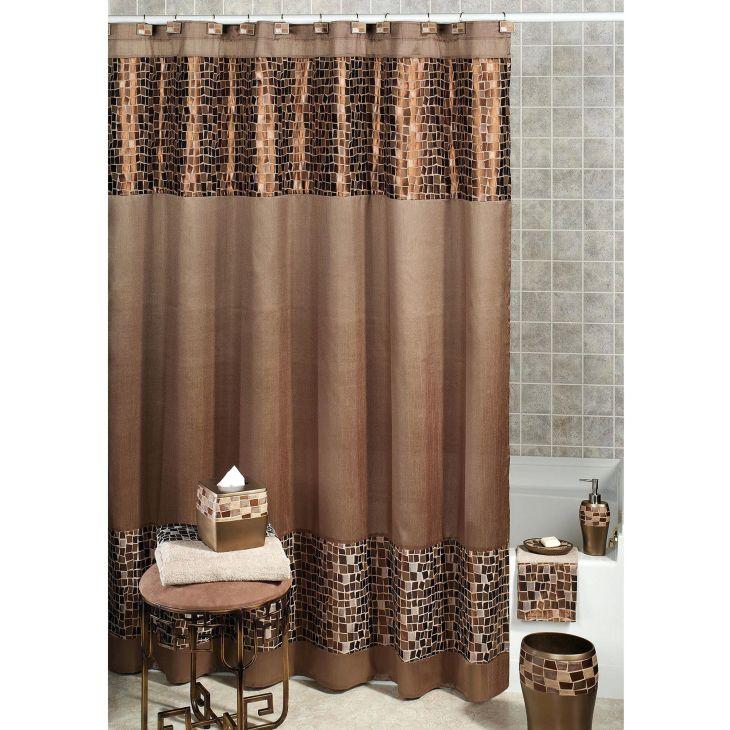 Bathroom Shower With Curtain 020