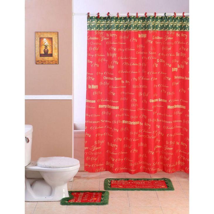 Bathroom Shower With Curtain 04