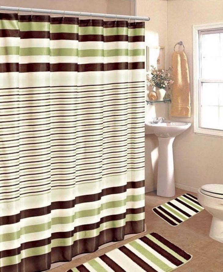 Bathroom Shower With Curtain 06