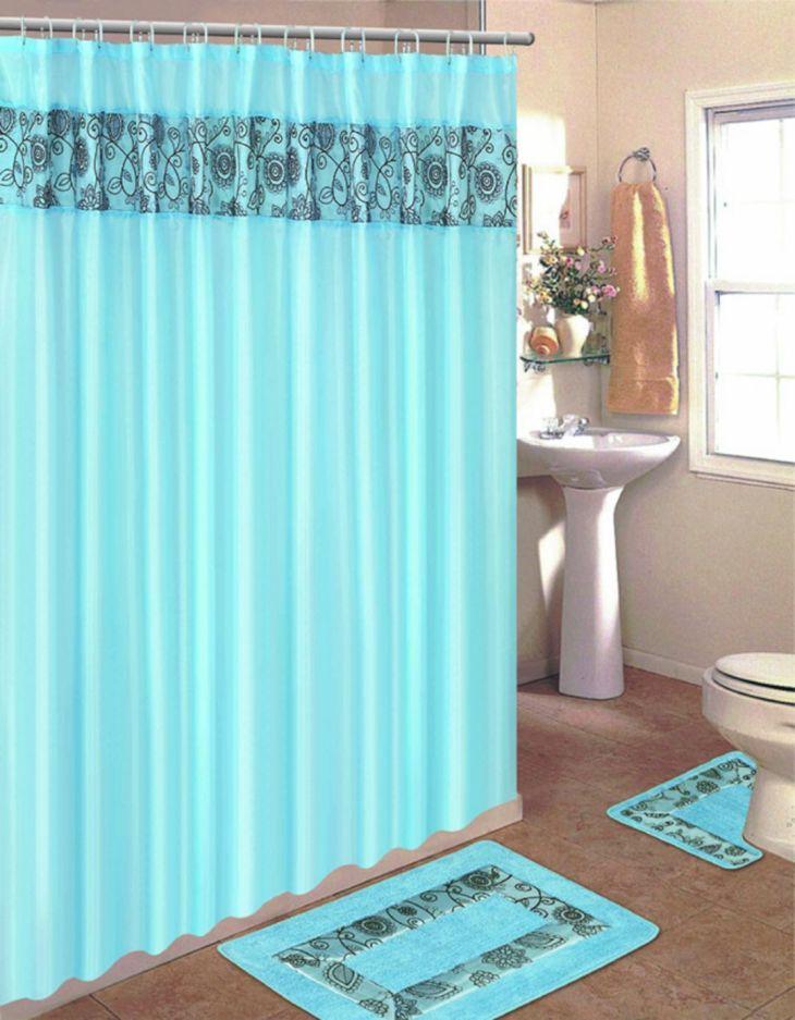 Bathroom Shower With Curtain 08