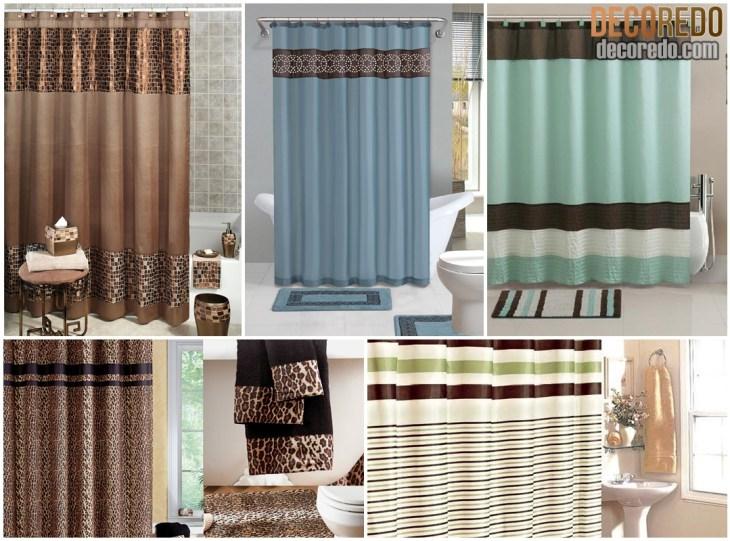 Bathroom Shower With Curtain