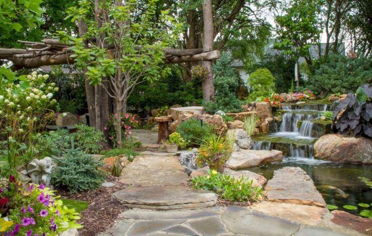 Beautiful Rock Garden 120