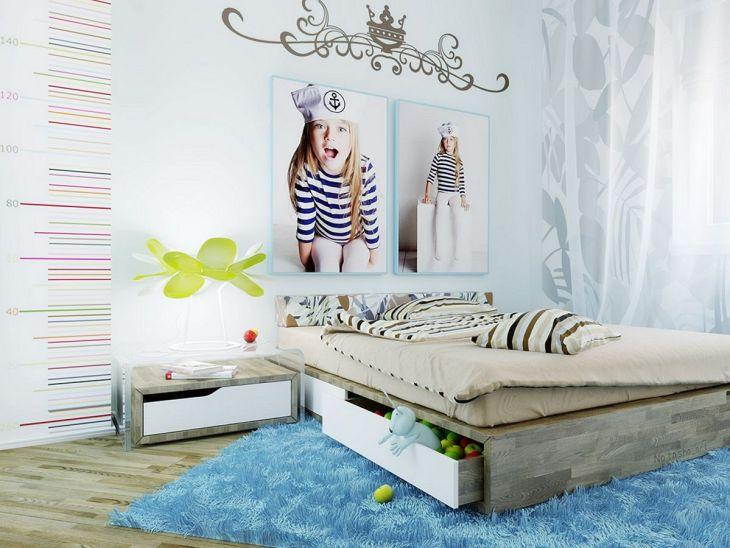 Blue Girls Bedroom Ideas 015