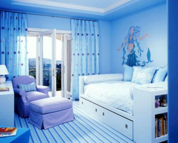 Blue Girls Bedroom Ideas 016