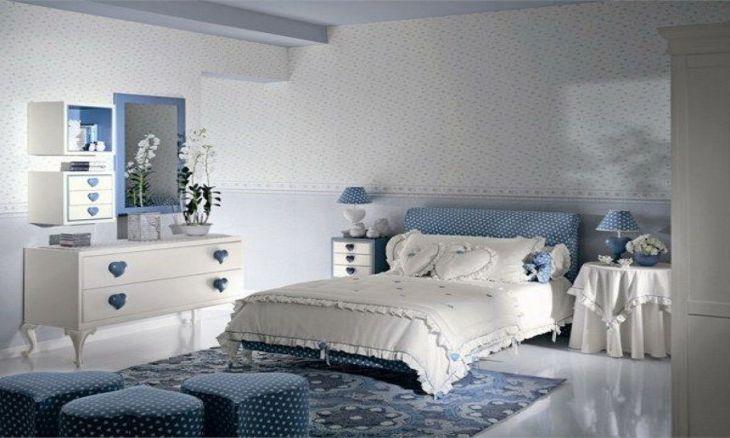 Blue Girls Bedroom Ideas 017