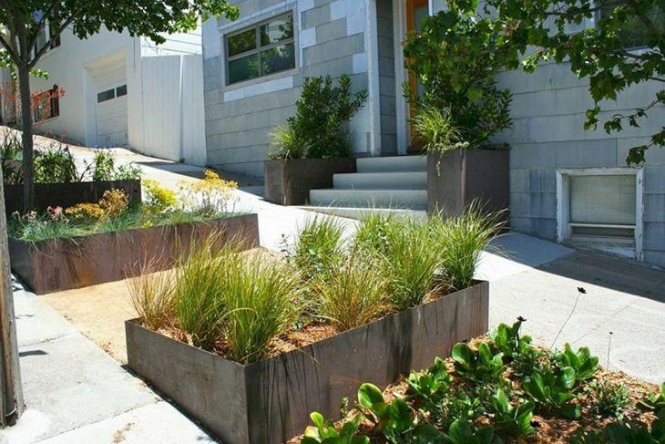 Contemporary Outdoor Planters Ideas 1