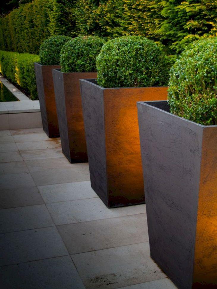 Contemporary Outdoor Planters Ideas 14