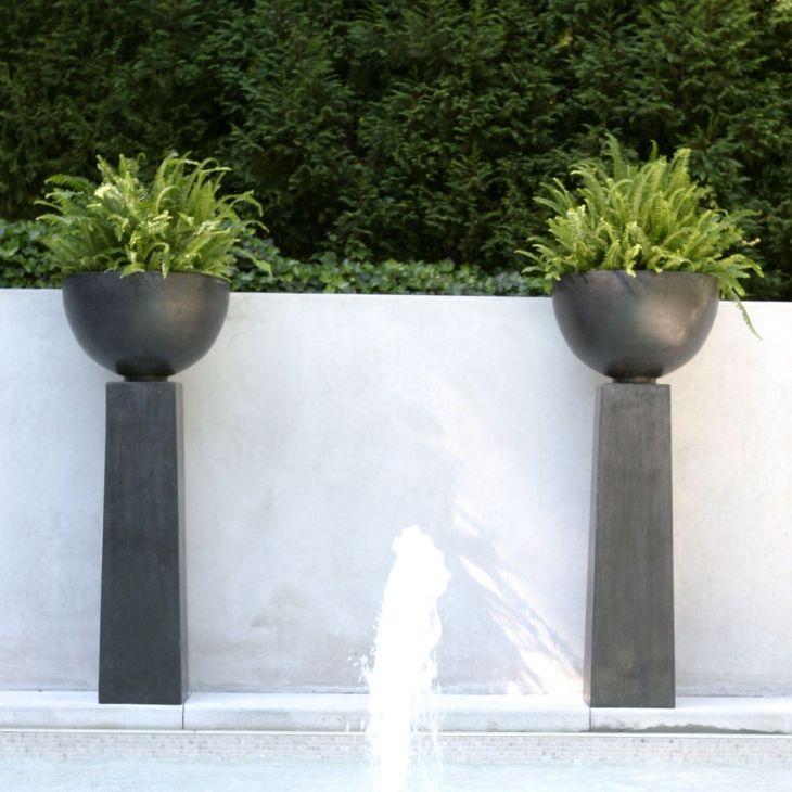 Contemporary Outdoor Planters Ideas 33