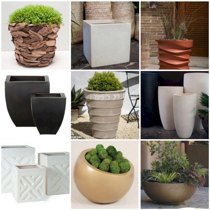 Contemporary Outdoor Planters Ideas 6
