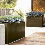 Contemporary Outdoor Planters Ideas 7