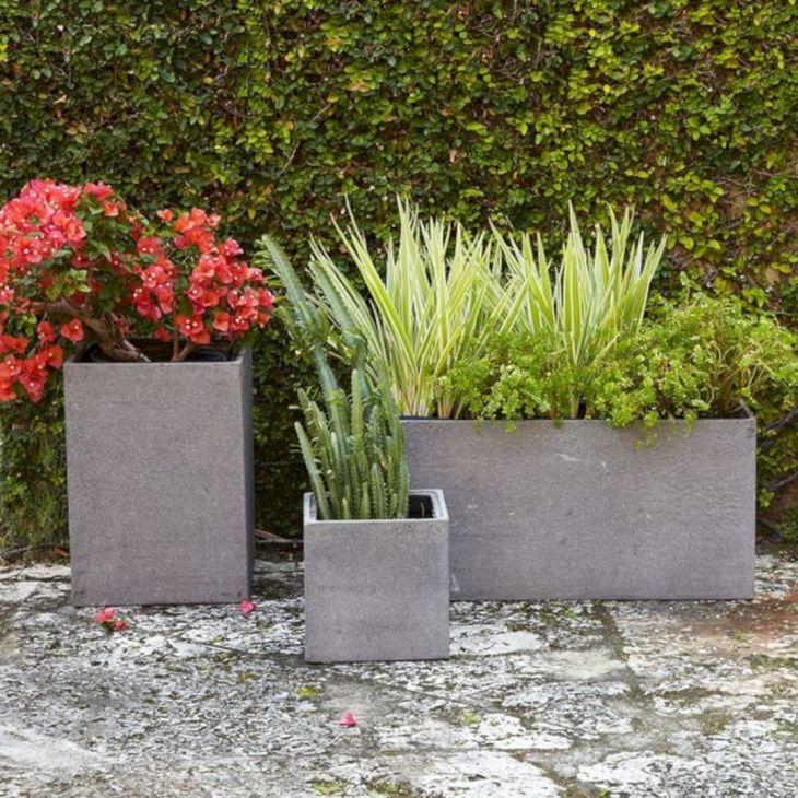 Contemporary Outdoor Planters Ideas 9