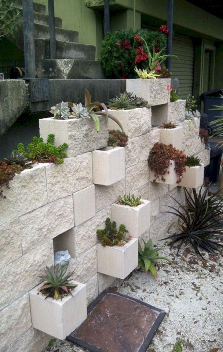 DIY Gardening With Cinder Blocks 12
