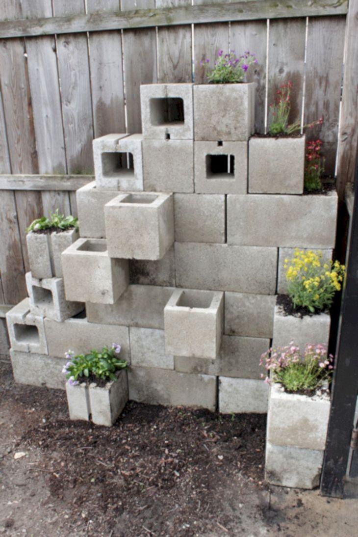 DIY Gardening With Cinder Blocks 15