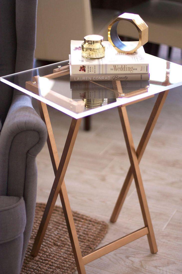 DIY Side Table Ideas 1020