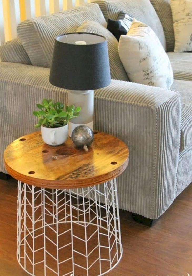 DIY Side Table Ideas 107