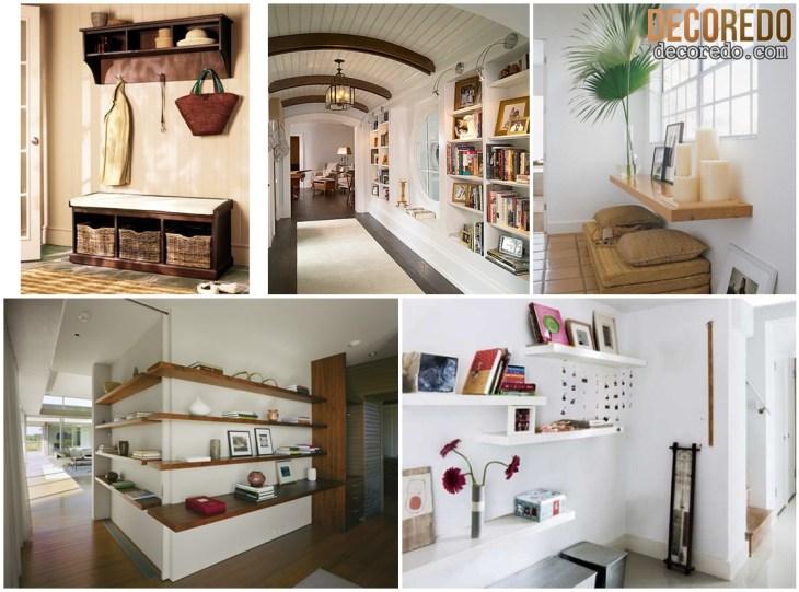 Home Entrance Shelves