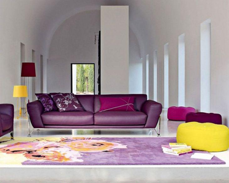 Living Room Colorful Sofa 1