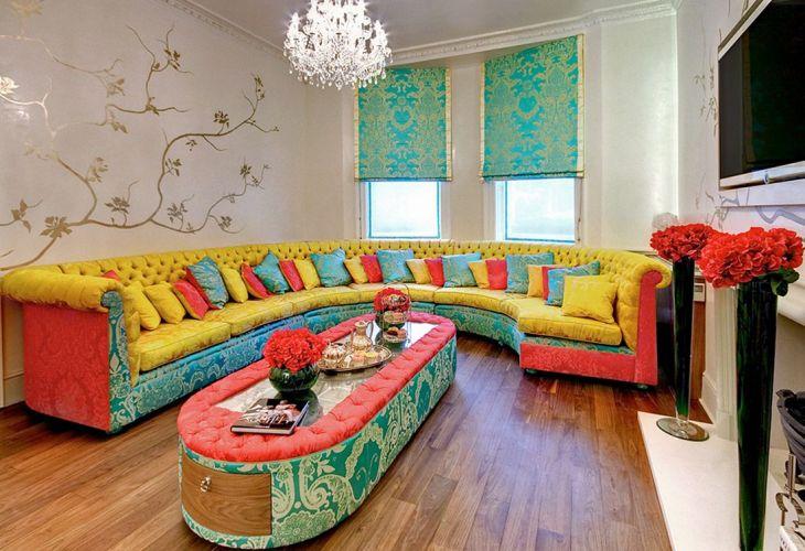 Living Room Colorful Sofa 16