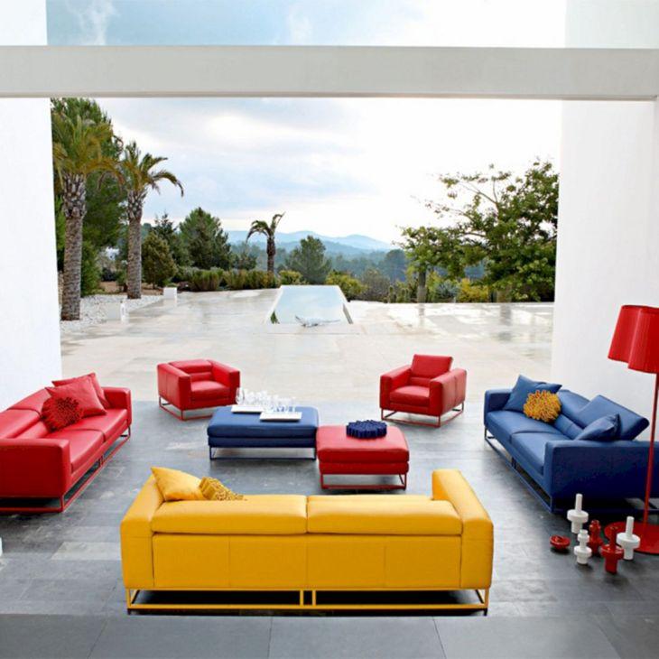 Living Room Colorful Sofa 19