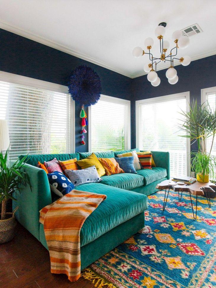 Living Room Colorful Sofa 8
