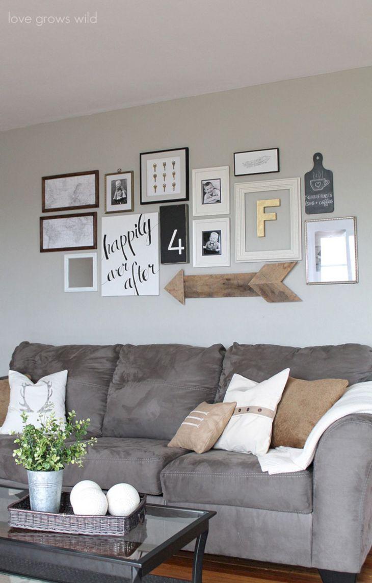Living Room Wall Gallery Design 26