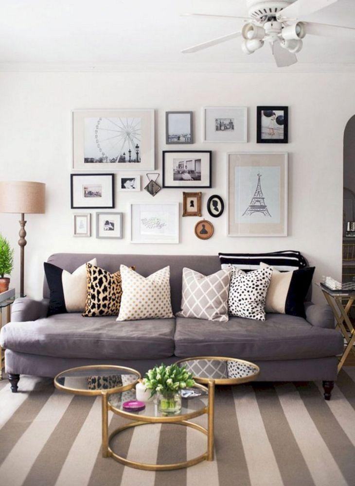 Living Room Wall Gallery Design 3