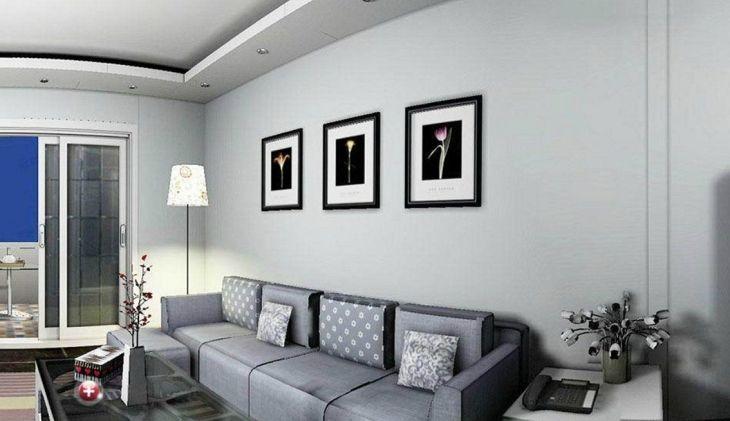 Living Room Wall Gallery Design 7