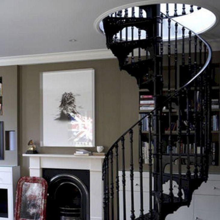 Modern Spiral Staircase Ideas 11