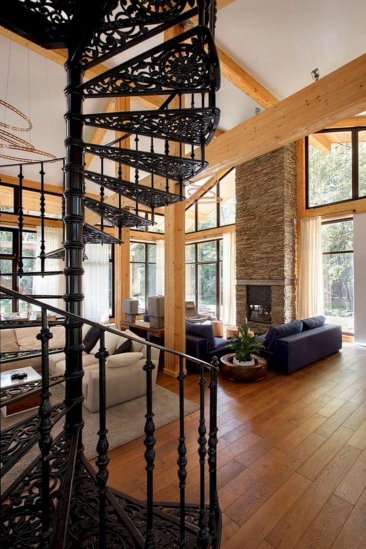 Modern Spiral Staircase Ideas 113