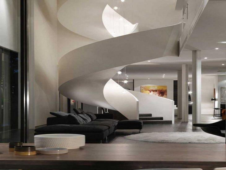 Modern Spiral Staircase Ideas 119
