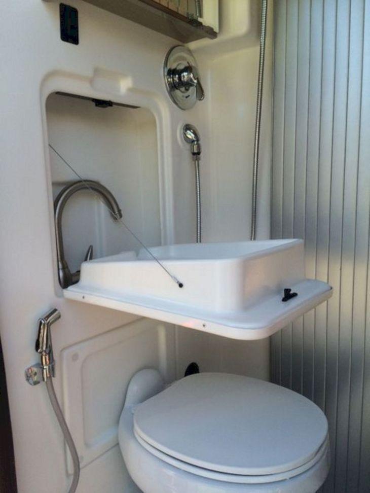 RV Bathroom Shower 028