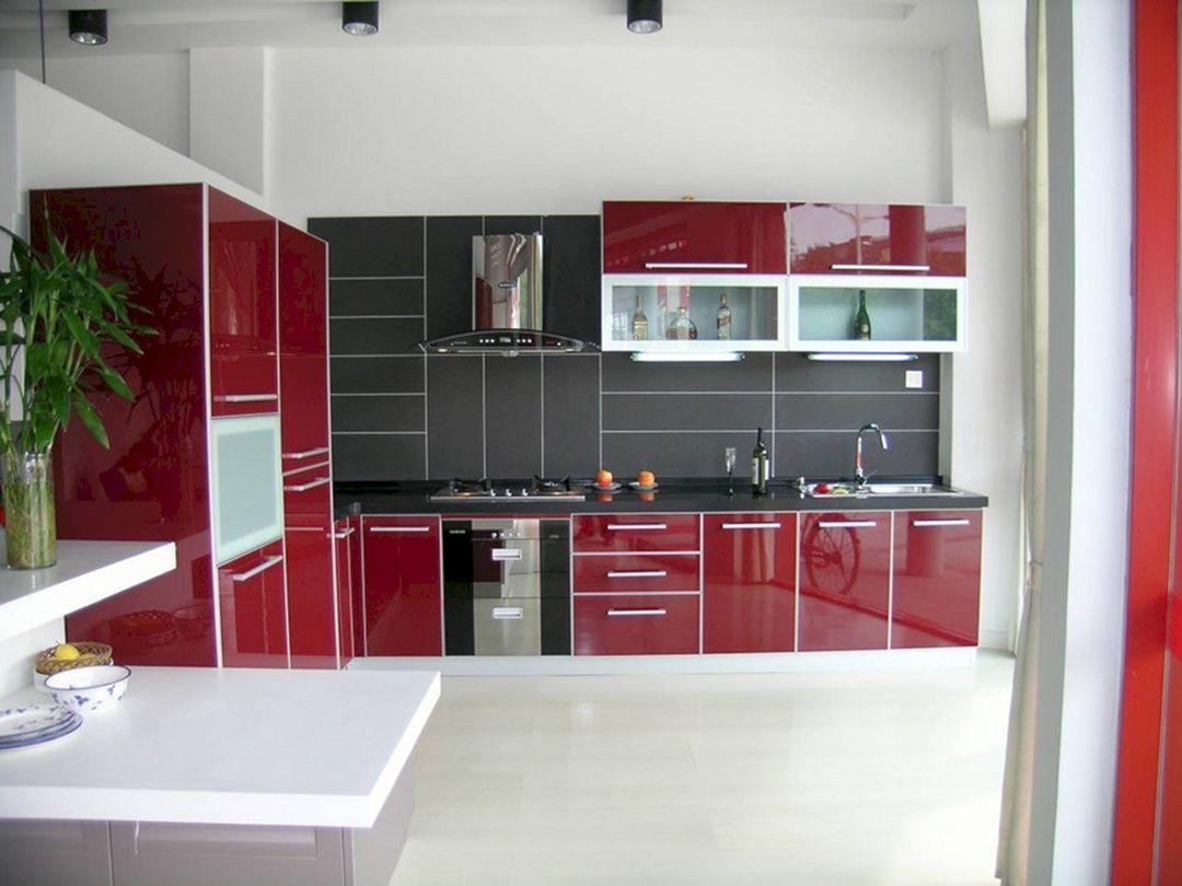 Red And Black Kitchen Ideas 20 Decoredo