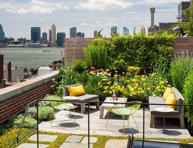 Rooftop Garden Ideas 112