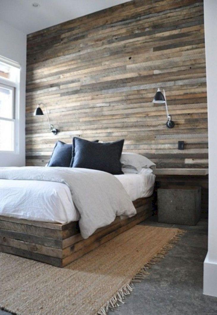 Rustic Bedroom Wall Ideas 190