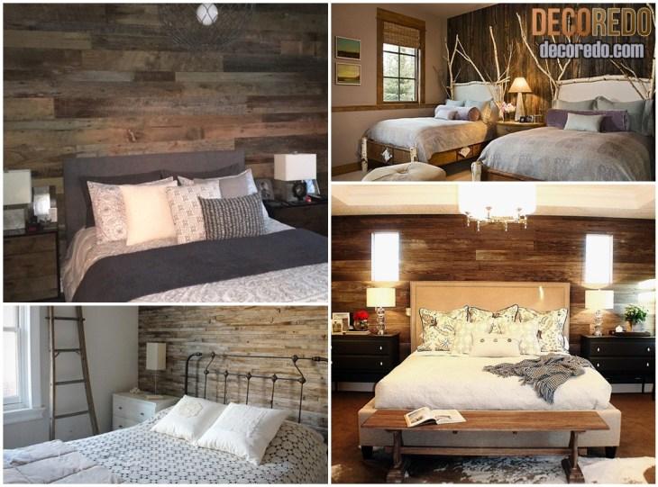 Rustic Bedroom Wall Ideas