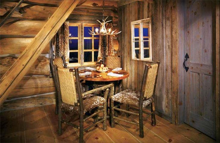 Rustic Cabin Interior Ideas 30