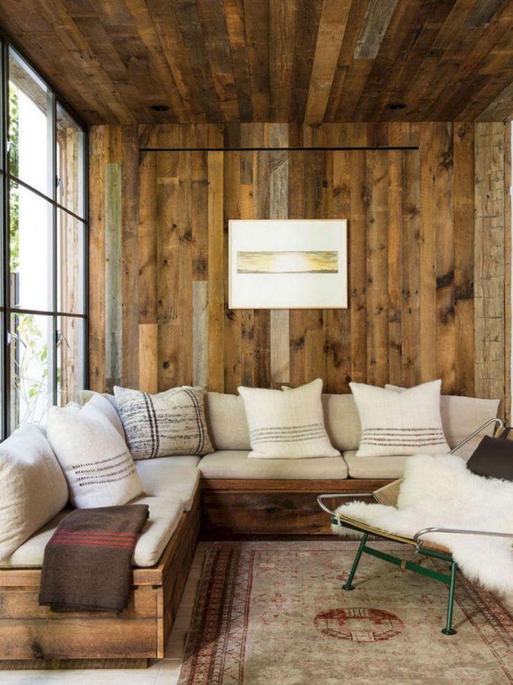 Rustic Cabin Interior Ideas 31