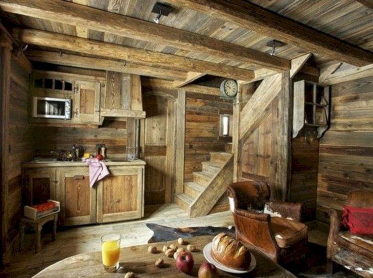 Rustic Cabin Interior Ideas 39