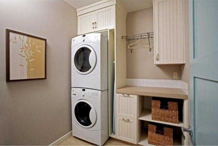 Small Laundry Room Hacks 18