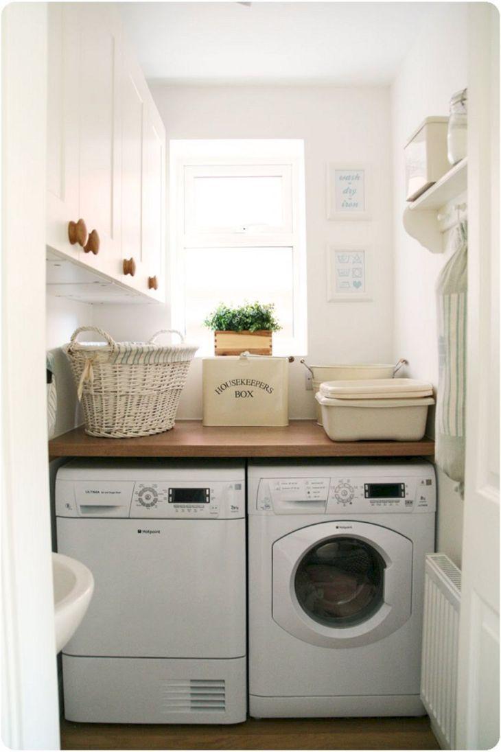 Small Laundry Room Hacks 20