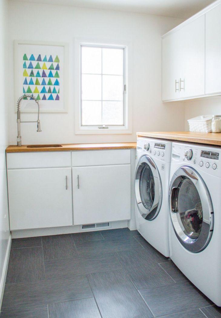 Small Laundry Room Hacks 23