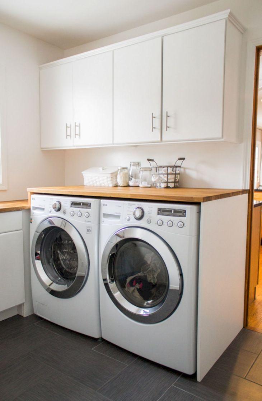 Small Laundry Room Hacks 24