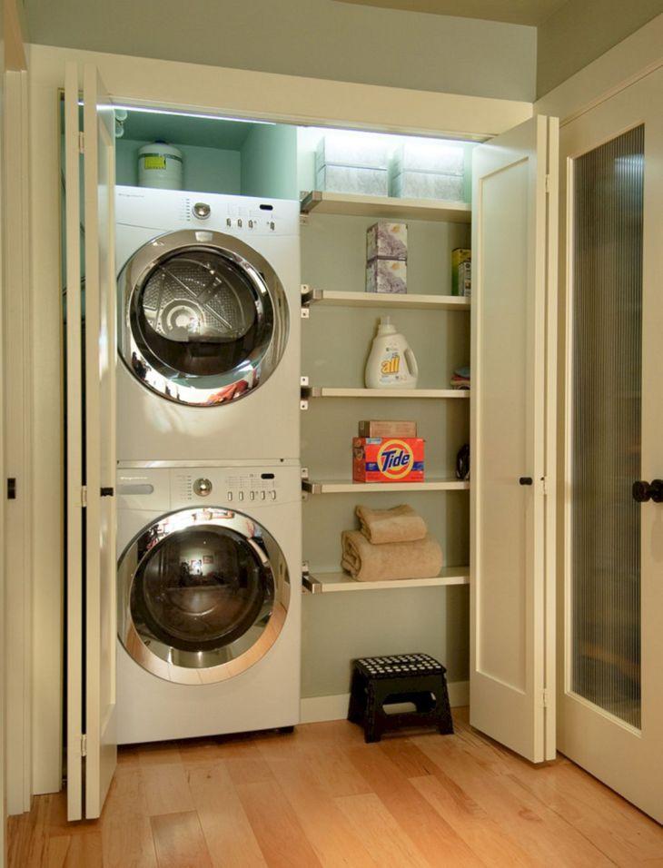 Small Laundry Room Hacks 28