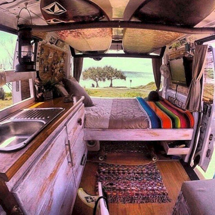 Small RV Camper Van Interiors 011