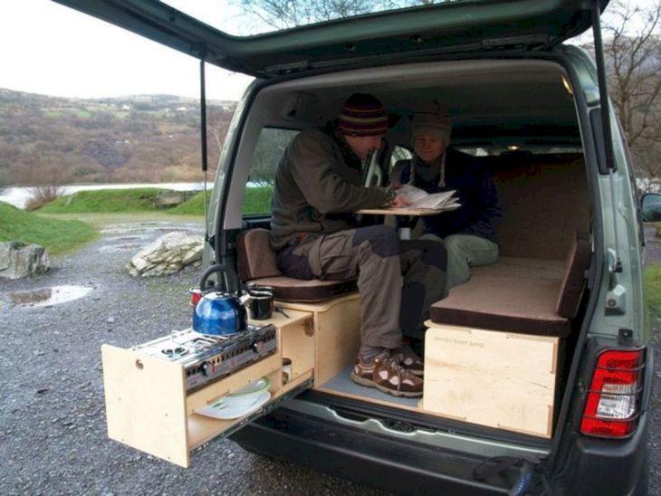 Small RV Camper Van Interiors 018
