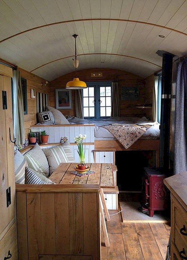 Small RV Camper Van Interiors 04