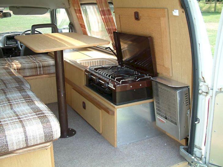 Small RV Camper Van Interiors 06