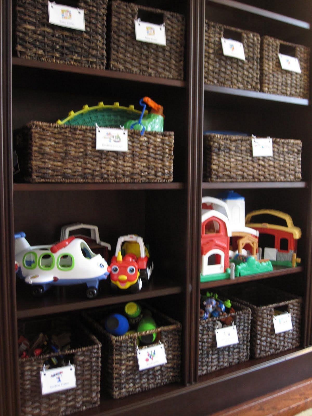 Toy Storage Organization Ideas 17