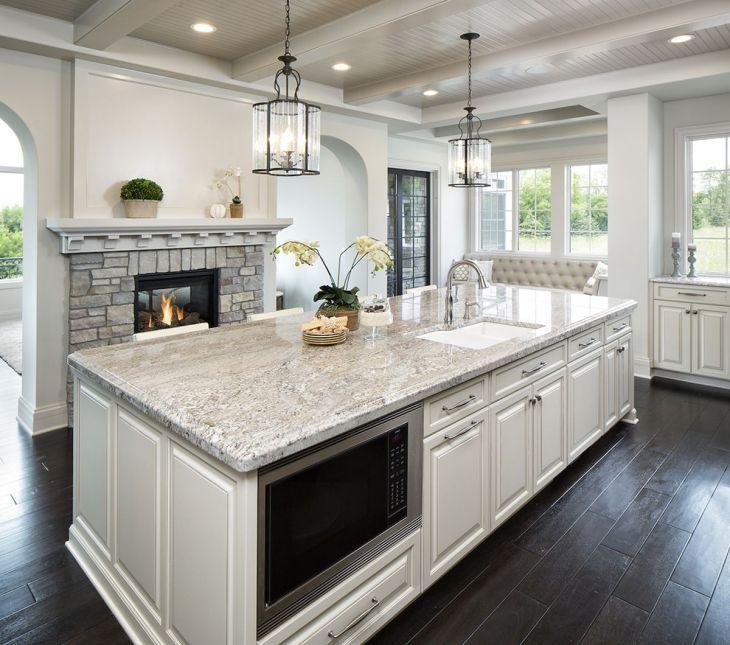 White Granite Kitchen 110